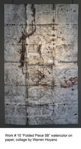 Warren Hoyano, artist at Yorkminster Park Gallery, 1585 Yonge St., Toronto, ON. September, 2019