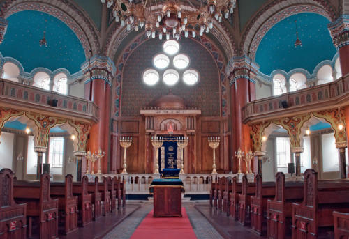 Interior sophia Synagogue 12 x 18