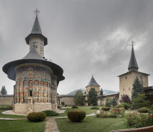 """Dr. Peter Alberti, photographer: """"Some Sacred Spaces of Romania and Bulgaria"""", Yorkminster Park Gallery, 1585 Yonge Street, Toronto, On. June 2019"""