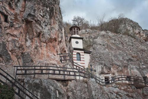 Rock Monastery St Dimitur, Basabovo 17.5 x 20