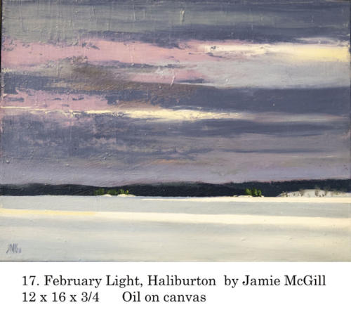 Yorkminster Park Gallery, 1585 Yonge St., Toronto ON presents Jamie McGill, artist. Feb. 15 - March 19, 2020.