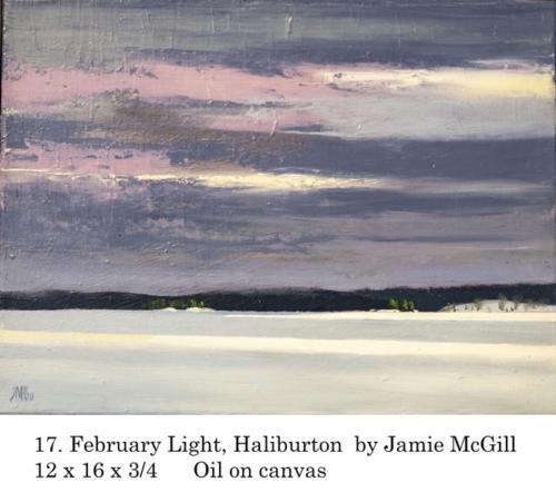Yorkminster Park Gallery, 1585 Yonge St., Toronto ON presents Jamie McGill, artist. Feb. 15 - March 19, 2020.