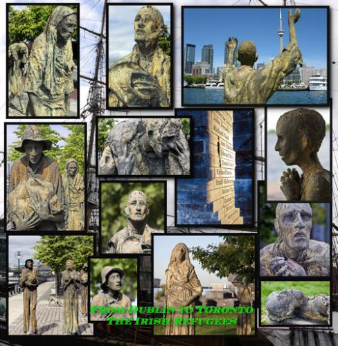 From Dublin to Toronto Irish Potato Famine Refugees