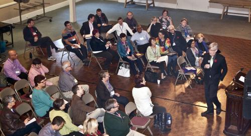 Lester Randal Preaching Fellowship Yorkminster Park, Nov. 2015
