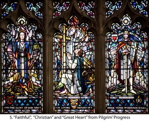 5.+Faithful,+Christian+and+Great+Heart+from+Pilgrim'+Progress