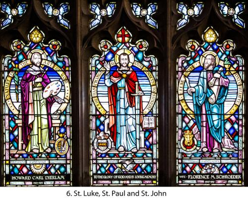 6.+St.+Luke,+St.+Paul+and+St+