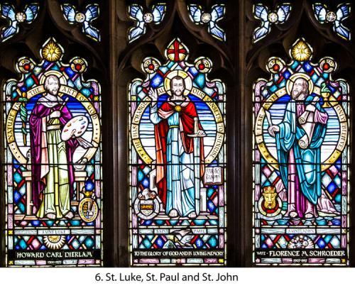 6.+St.+Luke,+St.+Paul+and+St+