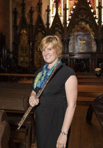 Music Mondays at Holy Trinity, June 4, 2018: Michelle LaPorte, flute, and Gerry Saulter, guitar.