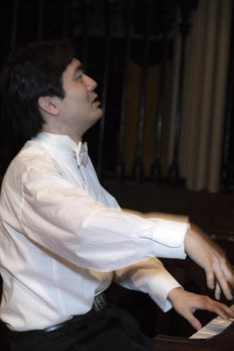 Music Mondays, Church of the Holy Trinity, Sheng Cai, piano. August 6, 2018