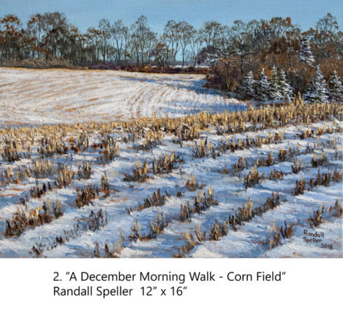 "Yorkminster Park Gallery, 1585 Yonge Street, Toronto, Ontario presents ""WALKING"", paintings by Randall Speller, Feb - Mar 2019"