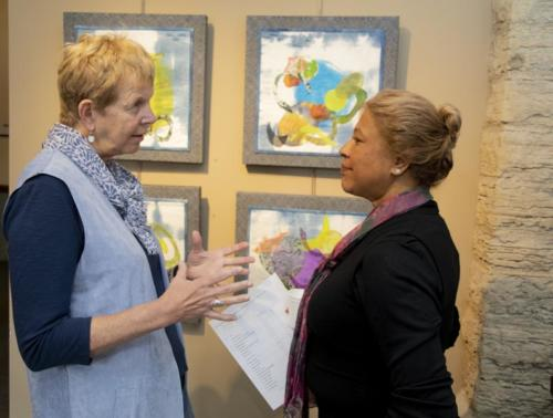 Yorkminster Park Gallery, Presents Linda Coulter_ Textile Impressions April, 2019